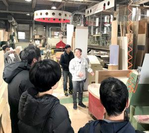 栗原木工ツアー:工場・設備見学